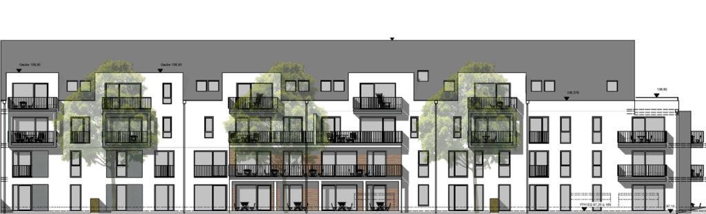 Mietwohnungen Solingen Ellerstraße 30+32 Ansicht Straße