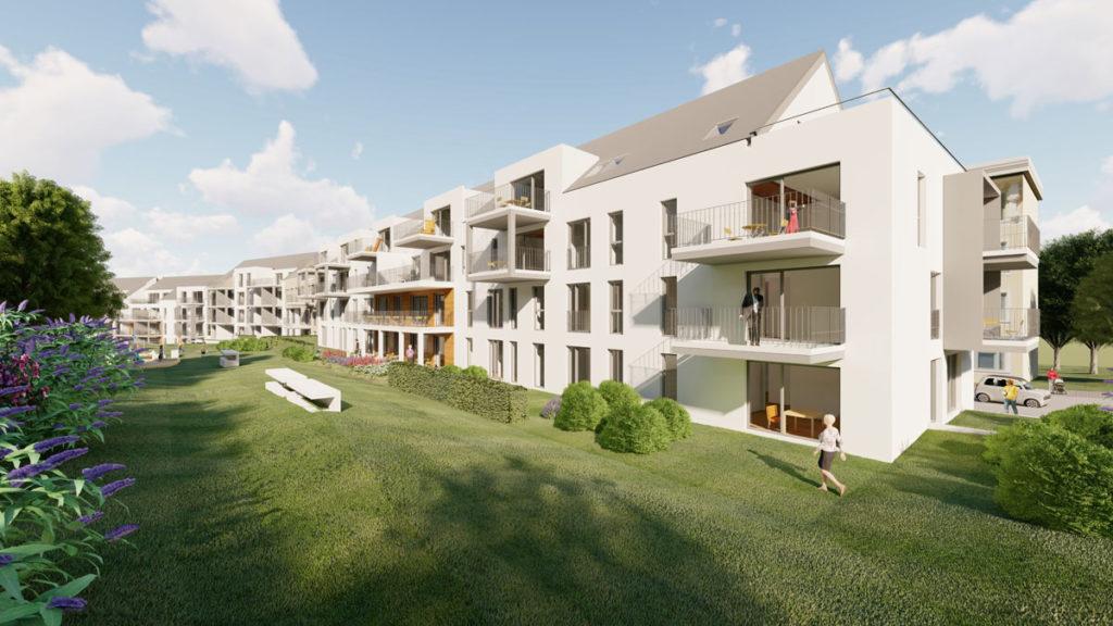 Mietwohnungen Solingen Ellerstraße - Ansicht Garten